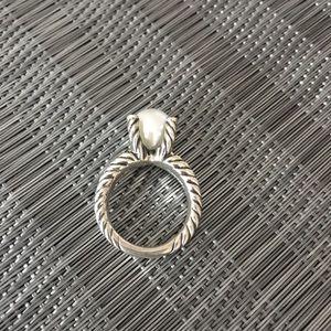 David Yurman Jewelry - David yurman pearl ring 💕